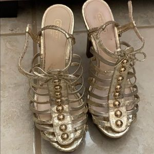 Authentic Coach heels